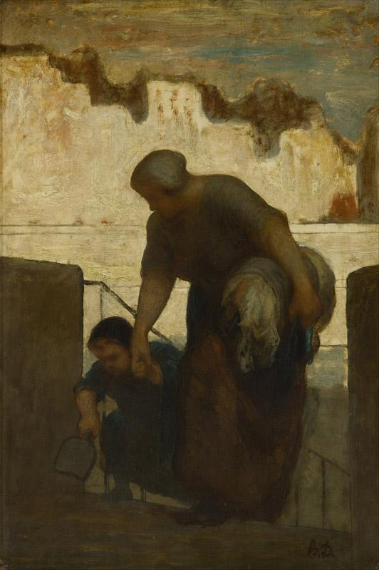 Honore Daumier - The Laundress