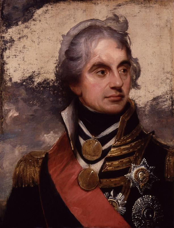 Horatio Nelson, Viscount Nelson by Sir William Beechey