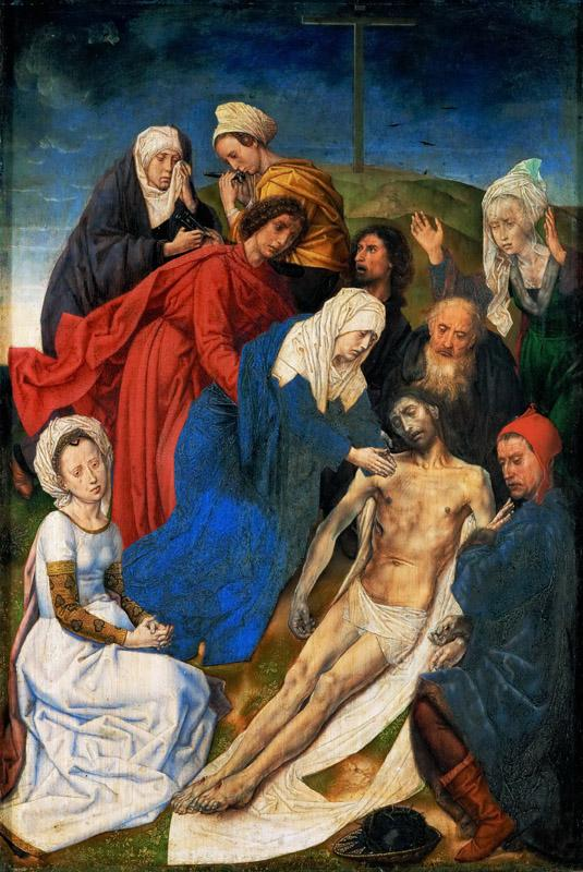 Hugo van der Goes -- Lamentation