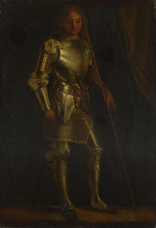 Imitator of Giorgione - A Man in Armour