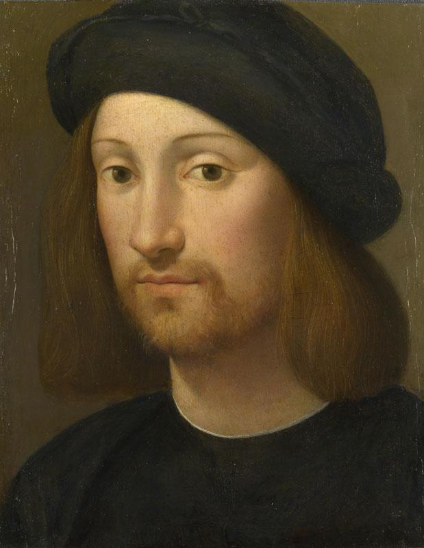 Imitator of Raphael - Portrait of a Young Man