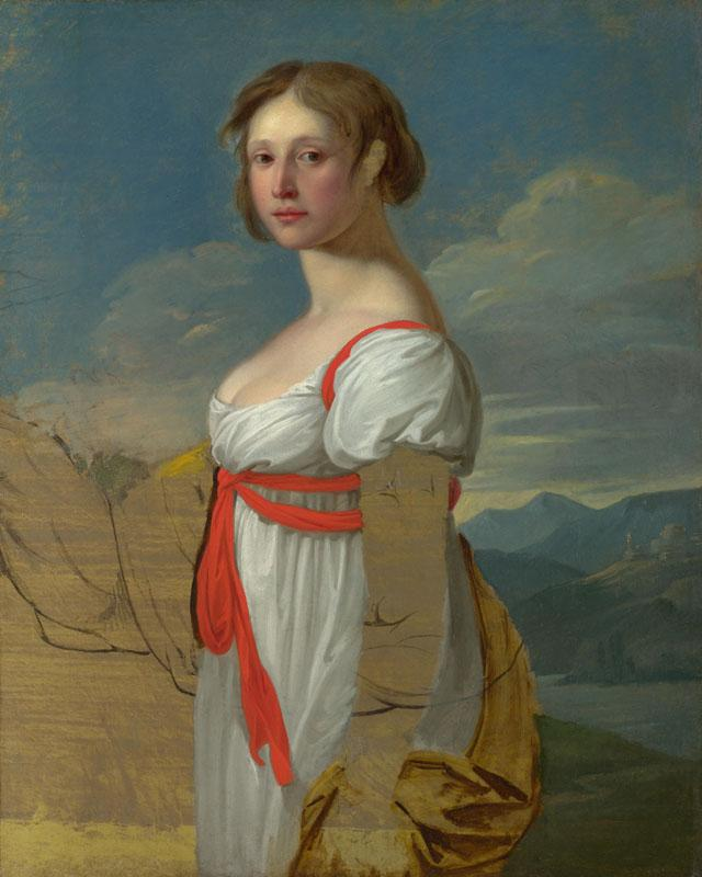 Italian - Portrait of a Woman