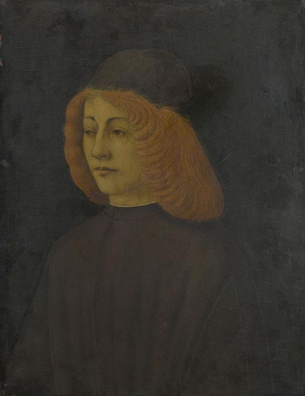 Italian - Portrait of a Young Man II