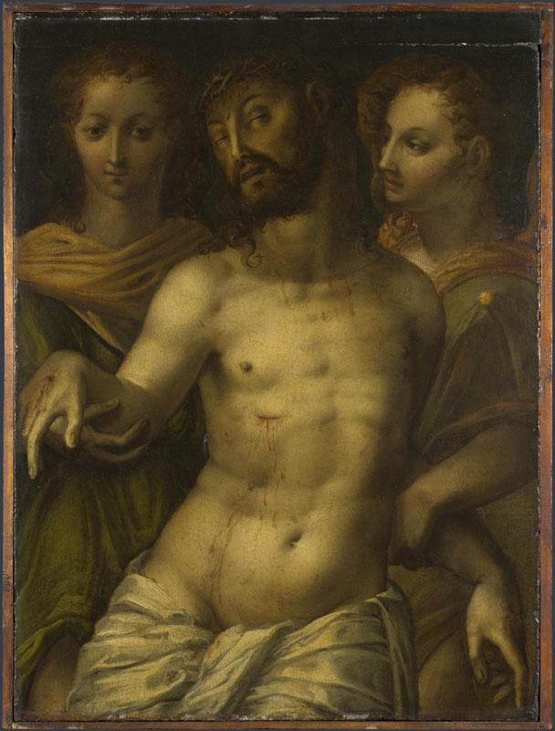 Italian - The Dead Christ supported by Angels