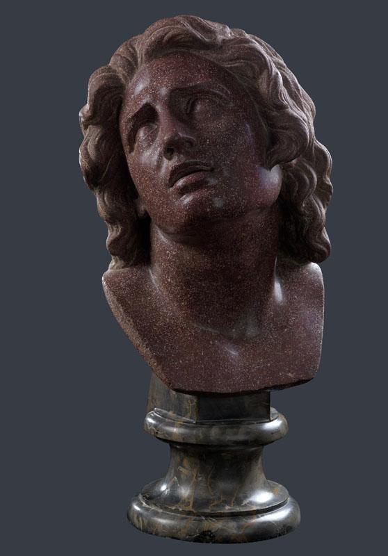 Italian, Florentine - Head of The Dying Alexander