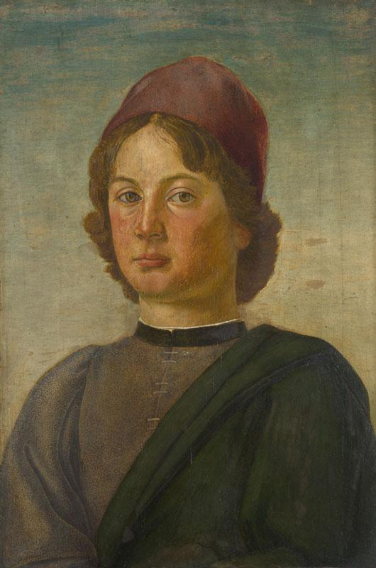 Italian, Florentine - Portrait of a Young Man