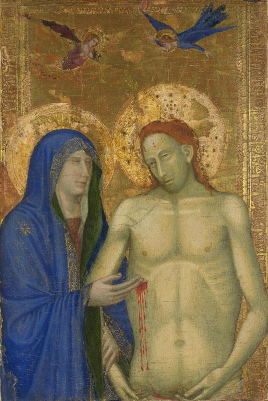 Italian, Florentine - The Dead Christ and the Virgin II