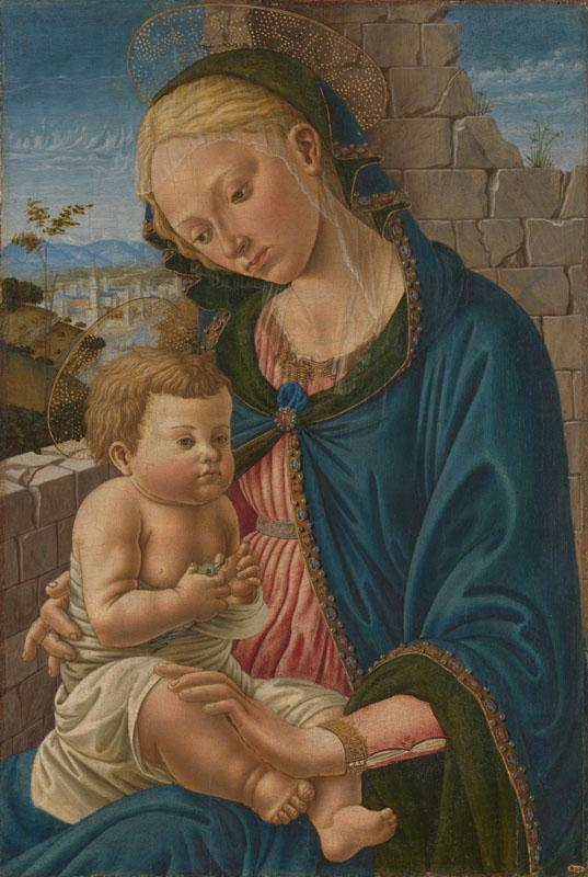 Italian, Florentine - The Virgin and Child