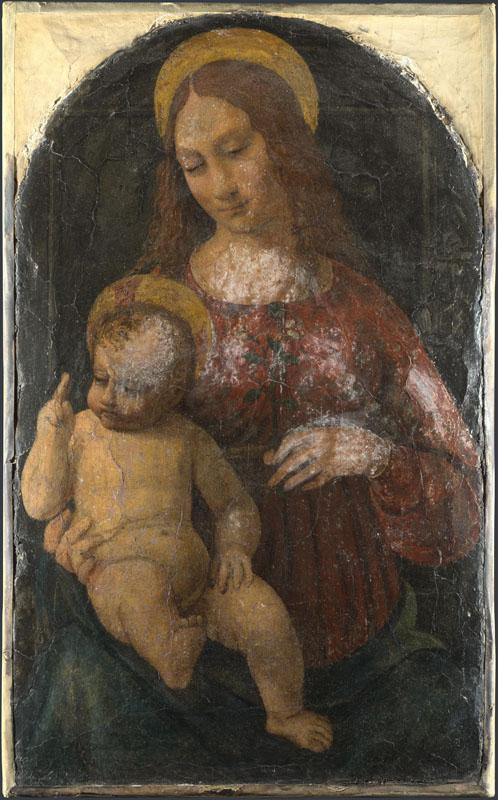 Italian, Milanese - The Virgin and Child