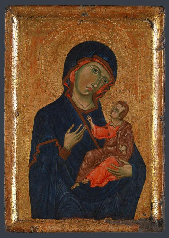 Italian, Umbrian - The Virgin and Child