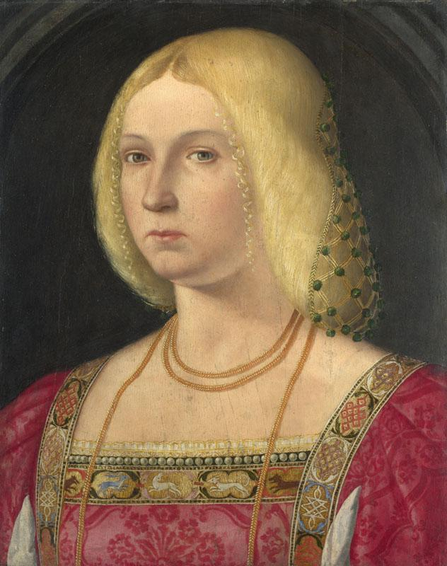 Italian, Venetian - Portrait of a Lady