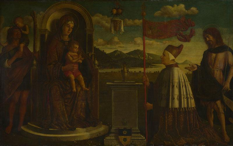 Italian, Venetian - The Virgin and Child with Saints