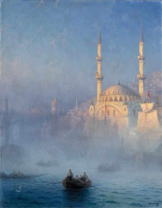 Ivan Ayvazovsky -- View of the Port of Constantinople