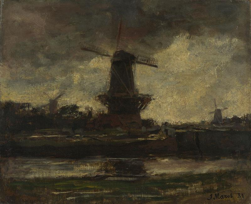 Jacob Maris - Three Windmills