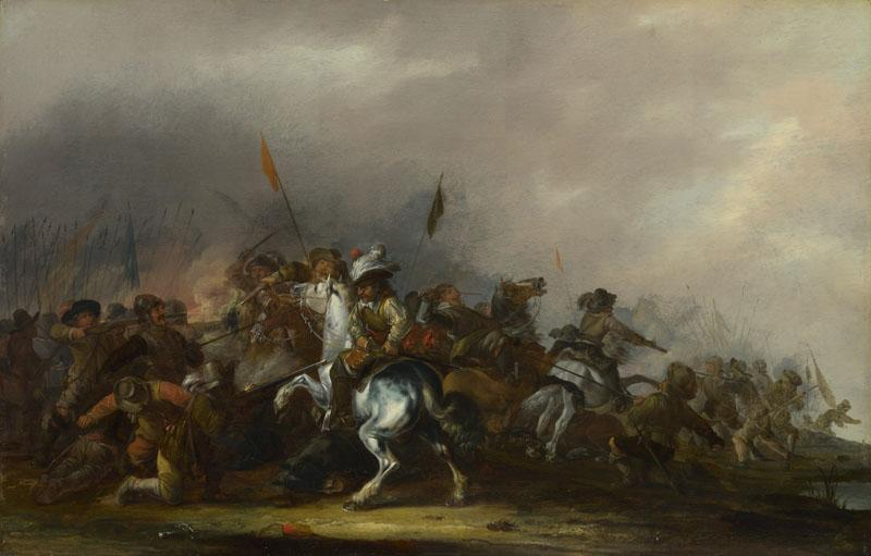 Jacob Weier - Cavalry attacked by Infantry