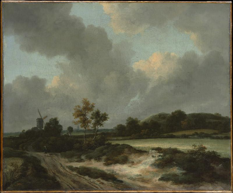 Jacob van Ruisdael--Grainfields