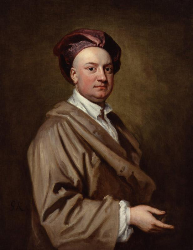 Jacob Tonson II by Sir Godfrey Kneller, Bt