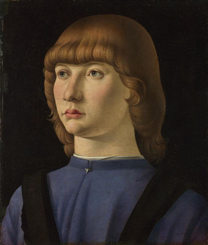 Jacometto - Portrait of a Boy