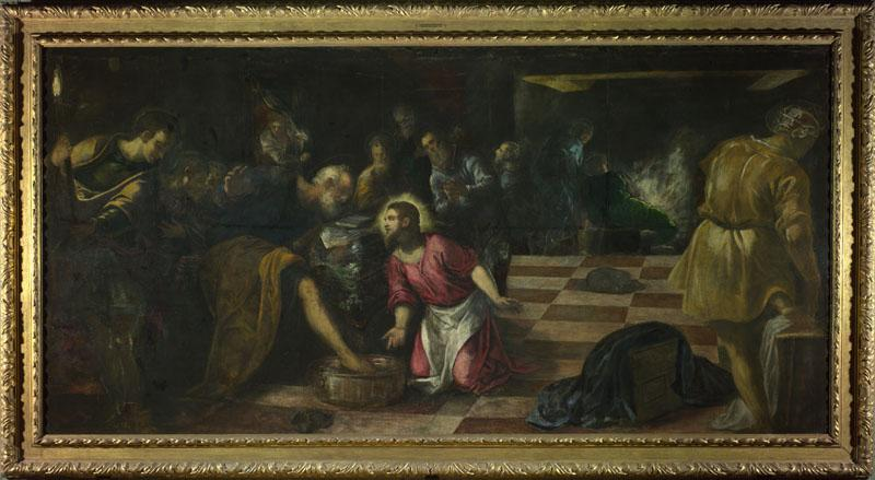 Jacopo Tintoretto - Christ washing the Feet of the Disciples