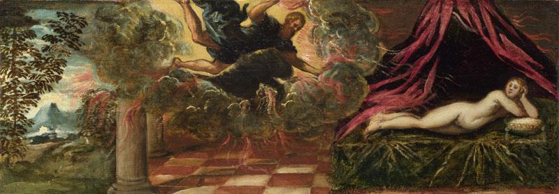 Jacopo Tintoretto - Jupiter and Semele