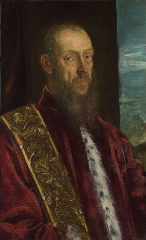 Jacopo Tintoretto - Portrait of Vincenzo Morosini