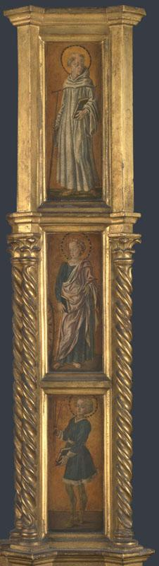 Jacopo di Antonio (Master of Pratovecchio) - Right Pilaster of an Altarpiece
