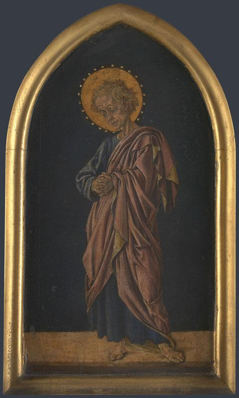 Jacopo di Antonio (Master of Pratovecchio) - Saint John the Evangelist - Altarpiece Pinnacle (rig