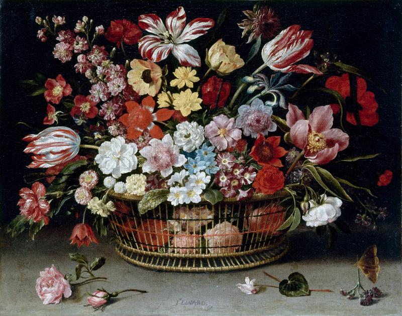 Jacques Linard -- Basket of flowers