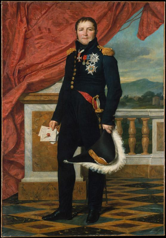 Jacques-Louis David--General etienne-Maurice Gerard (1773-1852), Marshal of France