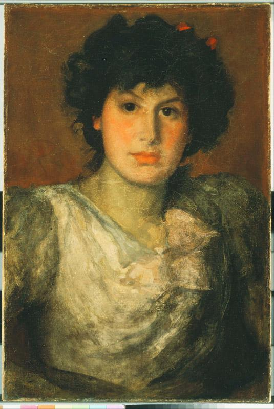 James Abbott McNeill Whistler (1834-1903)-Miss Lillian Woakes