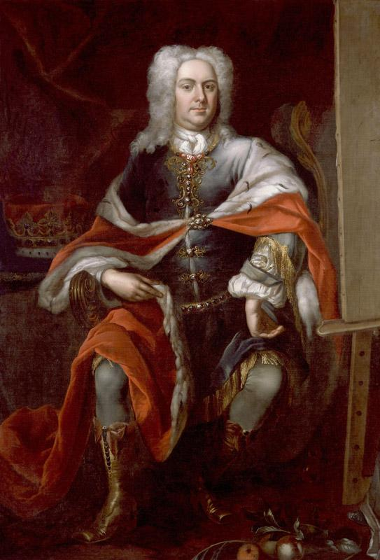 James Brydges, 1st Duke of Chandos by Herman van der Myn