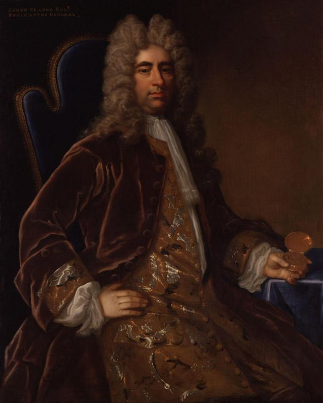 James Craggs the Elder by John Closterman