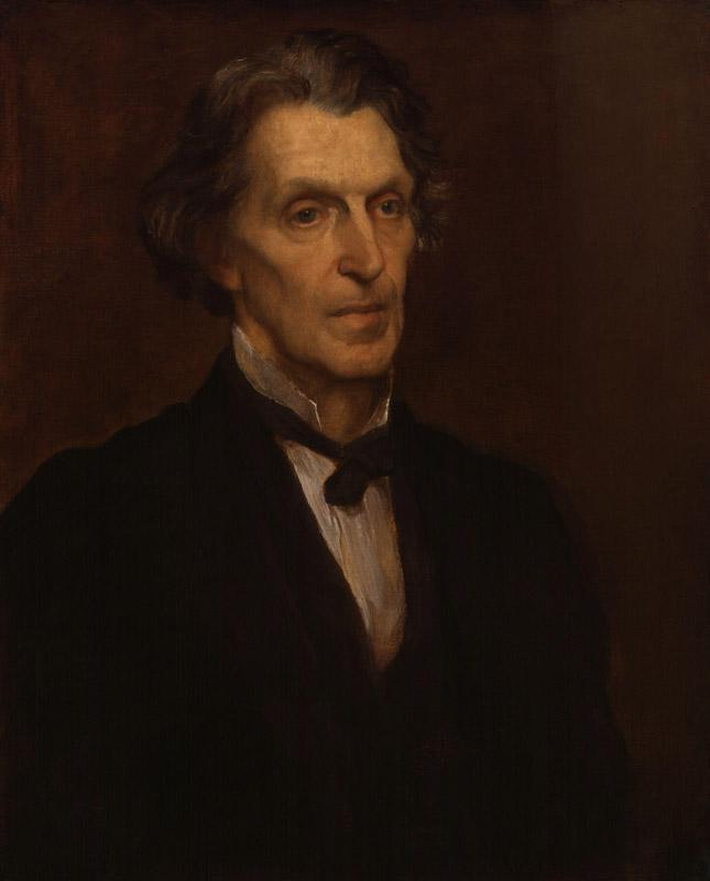 James Martineau by George Frederic Watts
