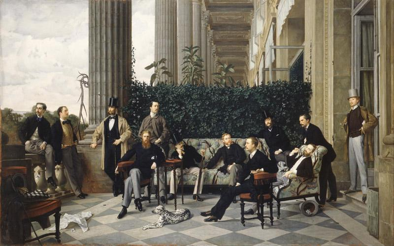 James Tissot - The Circle of the Rue Royale