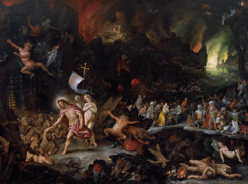 Jan Brueghel the Elder, Hans Rottenhammer - Christ Descent into Limbo