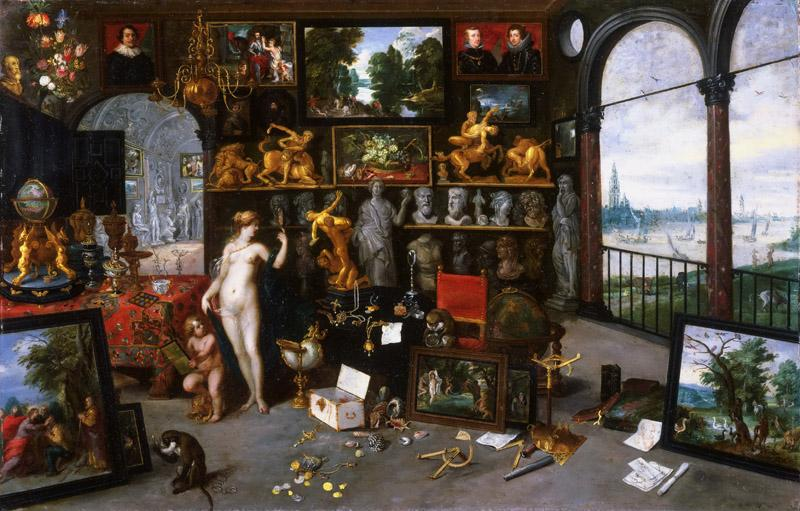 Jan Brueghel the Younger, Flemish (active Antwerp), 1601-1678 -- Allegory of Sight