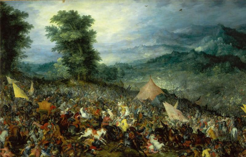 Jan Brueghel the elder -- Battle of Issus