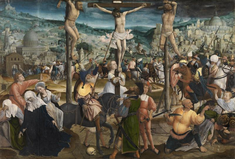 Jan Provoost - The crucifixion