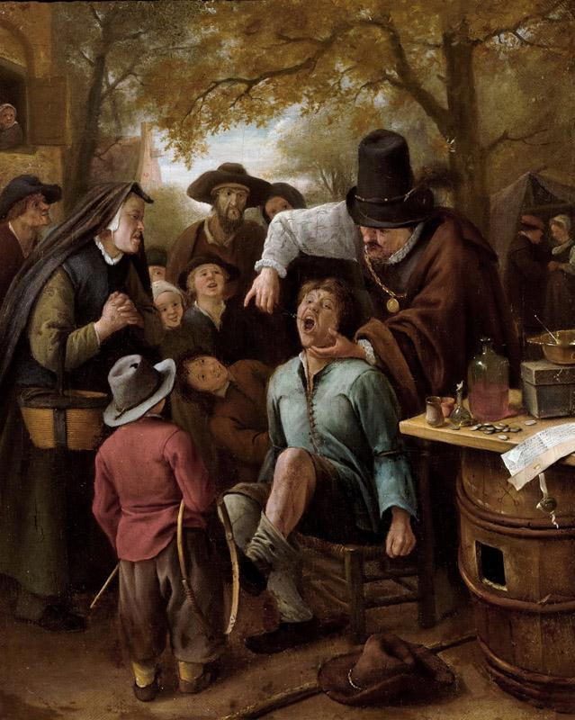 Jan Steen - The Tooth-Puller