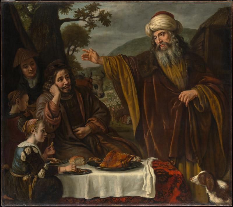 Jan Victors--Abraham Parting from the Family of Lot