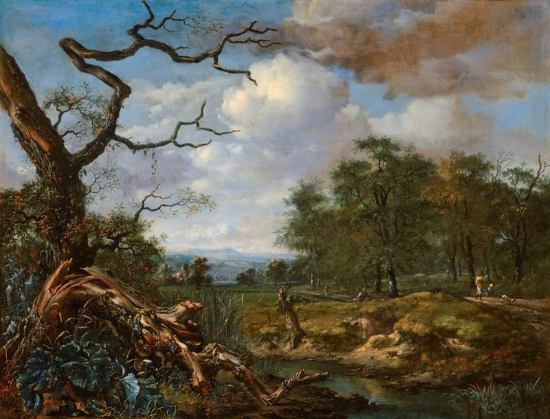 Jan Wijnants - Landscape at the Edge of Woods