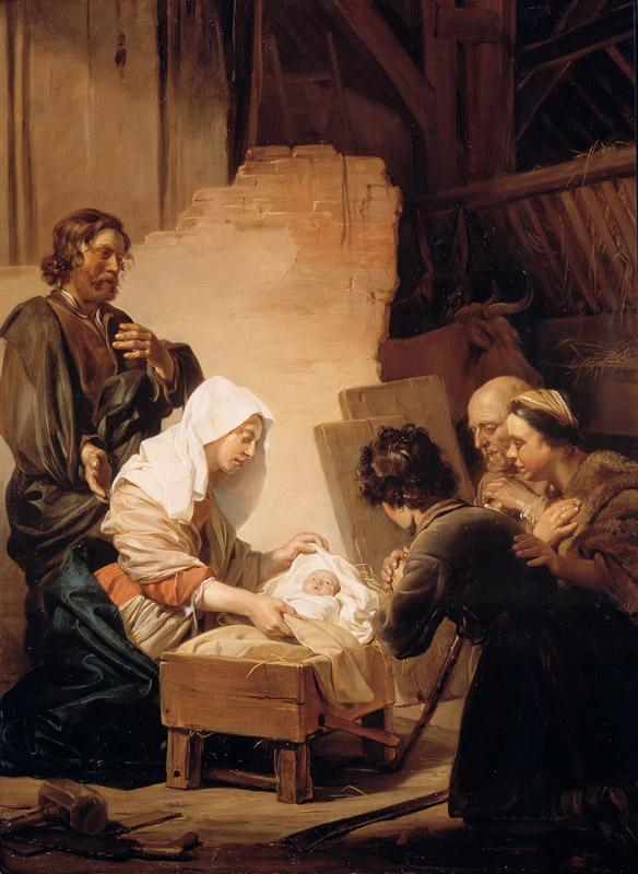 Jan de Bray - The Adoration of the Shepherds
