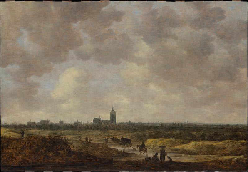 Jan van Goyen--A View of The Hague from the Northwest