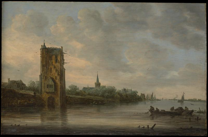 Jan van Goyen--The Pelkus Gate near Utrecht