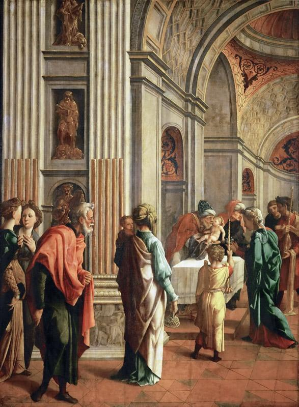 Jan van Scorel (1495-1562) -- Presentation of the Christ Child in the Temple