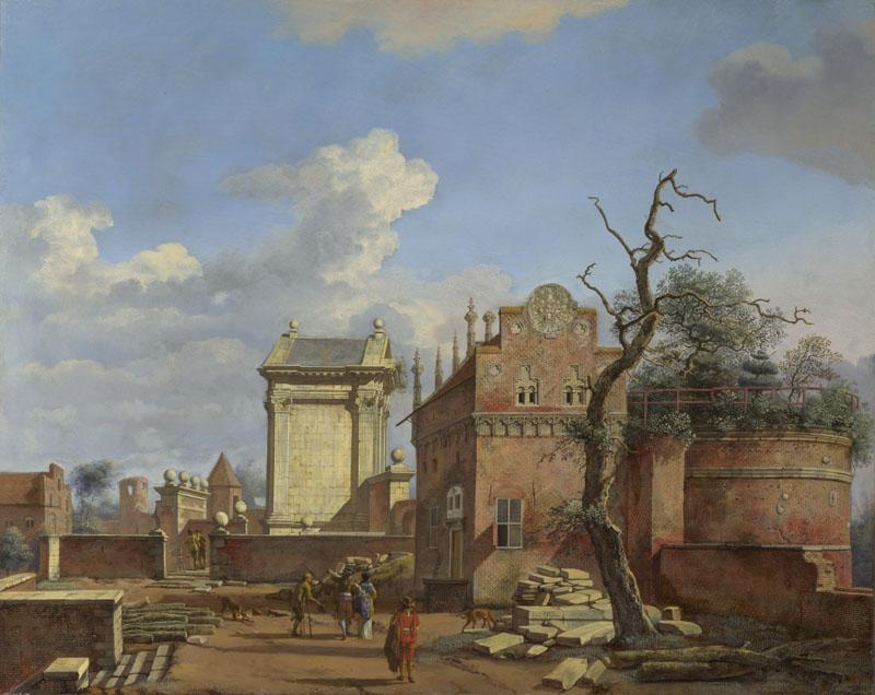 Jan van der Heyden - An Architectural Fantasy