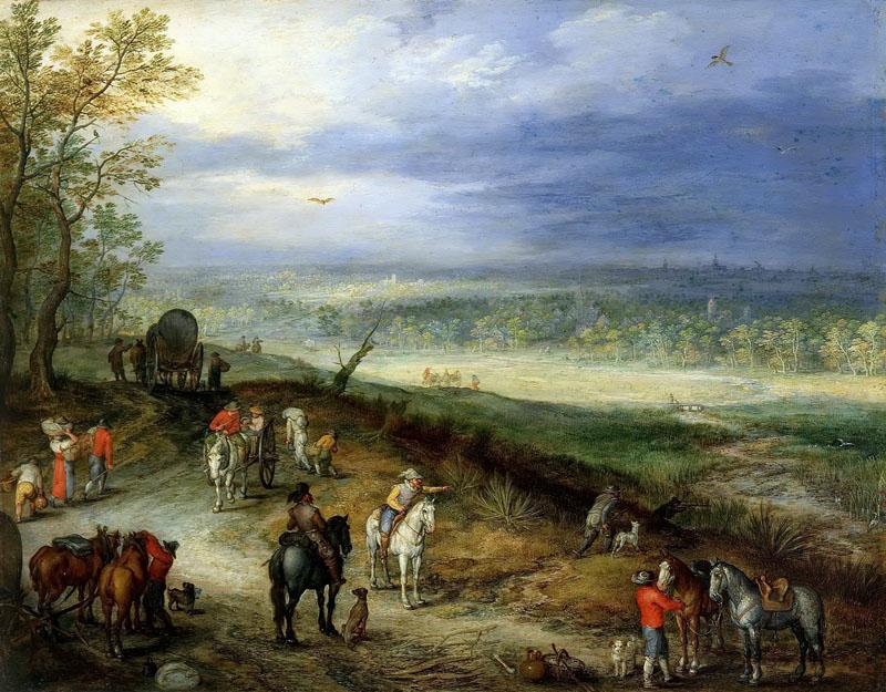 Jan Brueghel the Elder- (58)