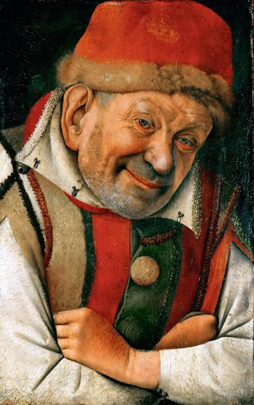 Jean Fouquet - Gonella, the Court Dwarf of the Dukes of Ferrara