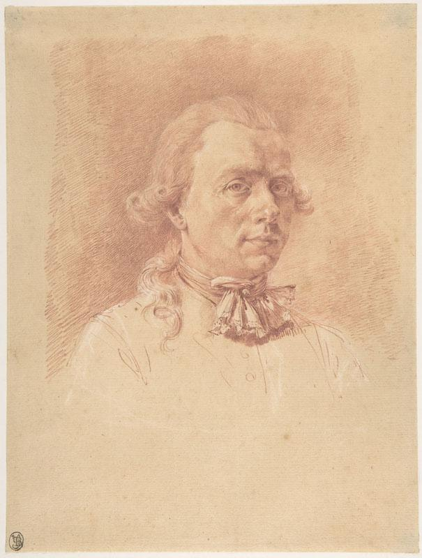 Jean Jacques de Boissieu--Self-Portrait