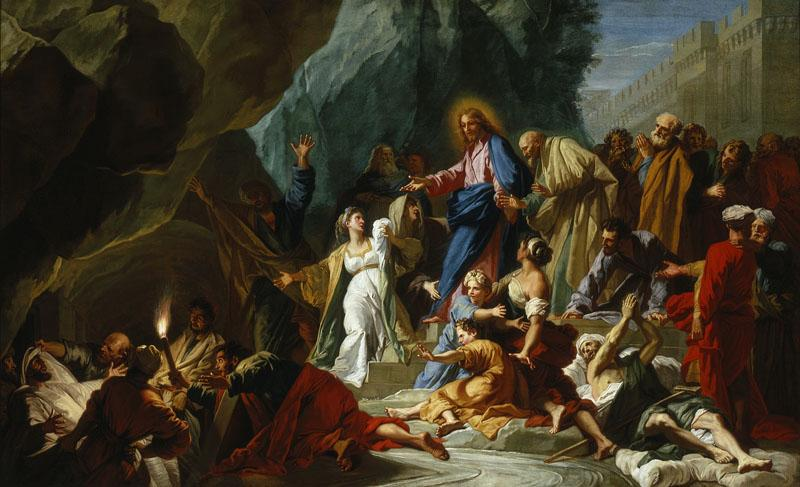 Jean Jouvenet - The Raising of Lazarus